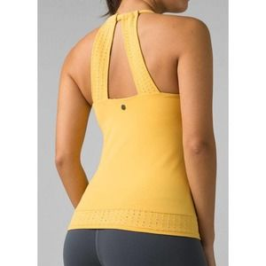 pRana Women's Faro Support Top in Quince NWT